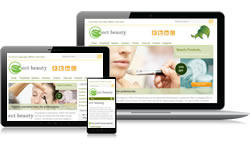 Responsive Design Beauty Ecomm Plus