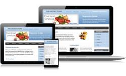 Responsive Design Gadgets Ecomm Plus