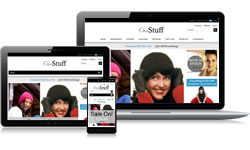 Responsive Design Our Stuff Ecomm Plus